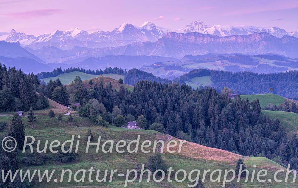 Berner Alpen von Lüderenalp