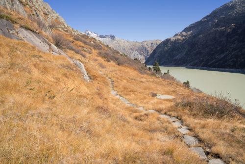Wanderweg Grimselsee 3