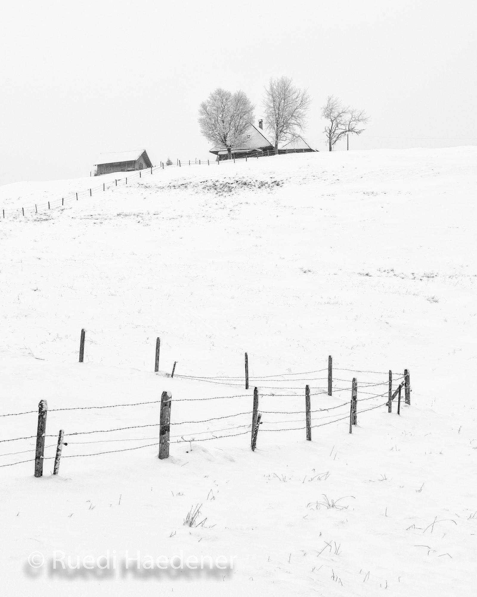 Emmentaler Winterlandschaft