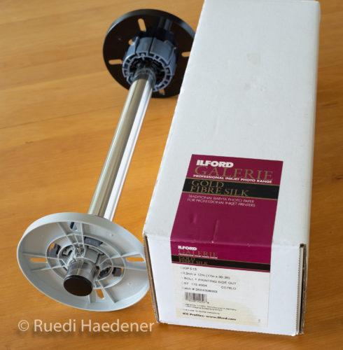 Rollenhalterung für Epson SureColor P800