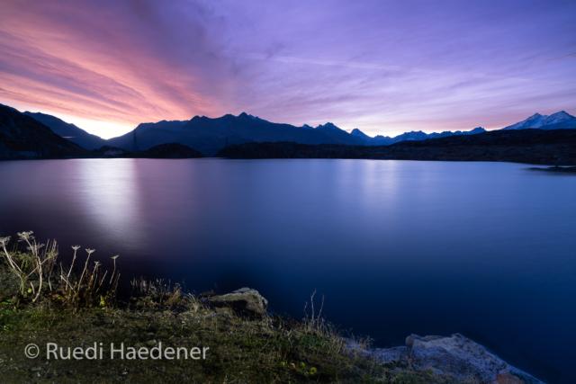 Blaue Stunde am Totensee