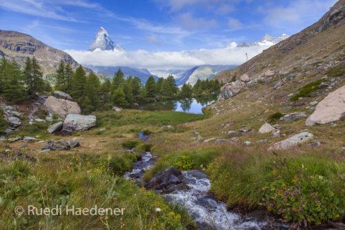 Grindjesee-Matterhorn