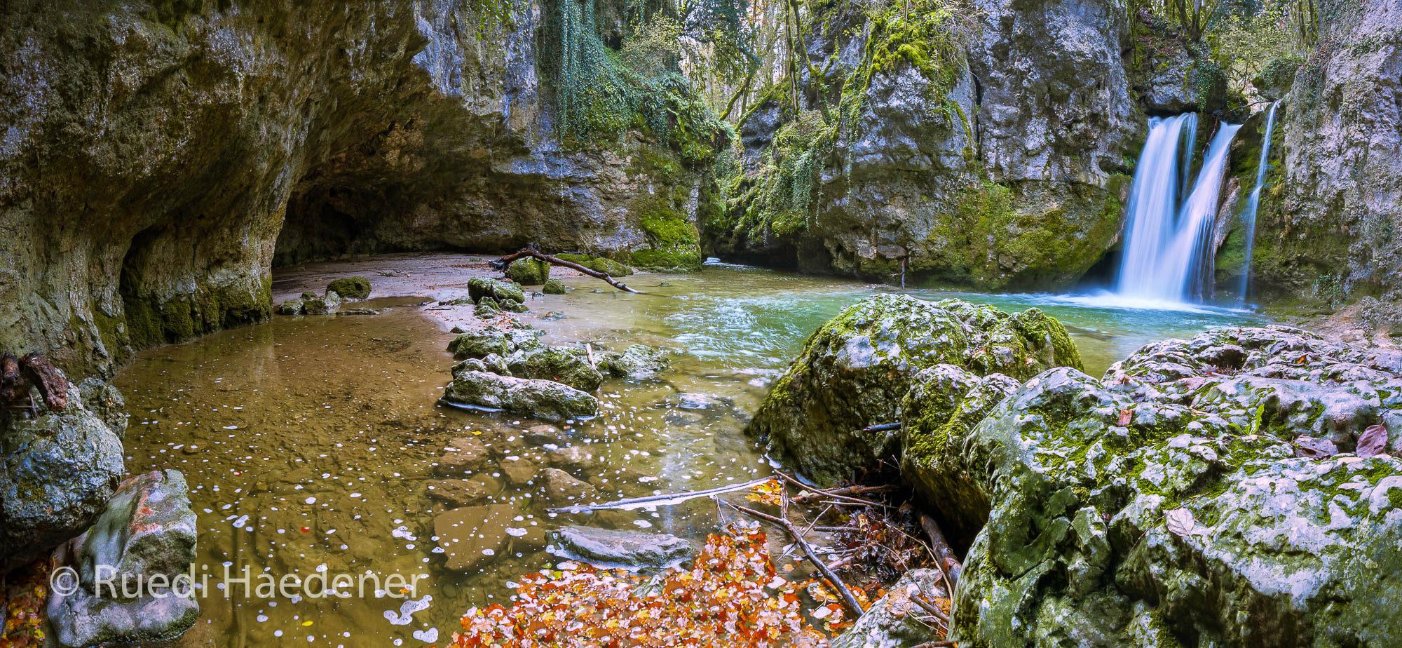 Panorama Wasserfall